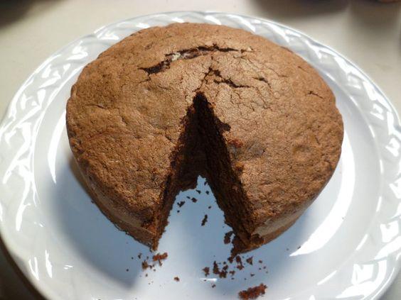 Souffle de chocolate de la Casa del Pan Fino
