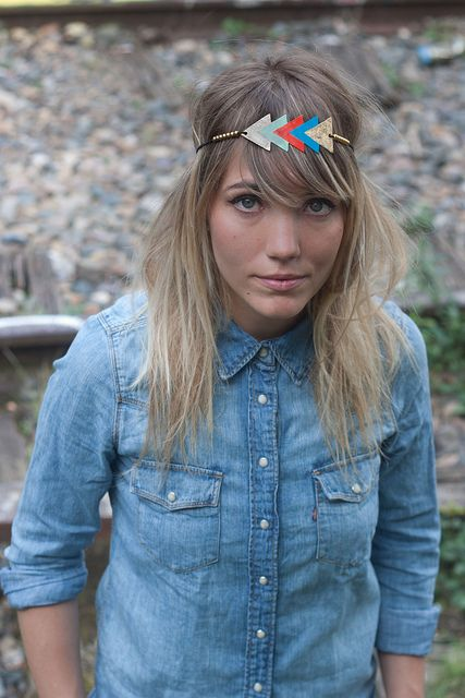 Poney Express  http://www.letigredepapier.fr/products-page/headbands/    What about cool headbands like this?