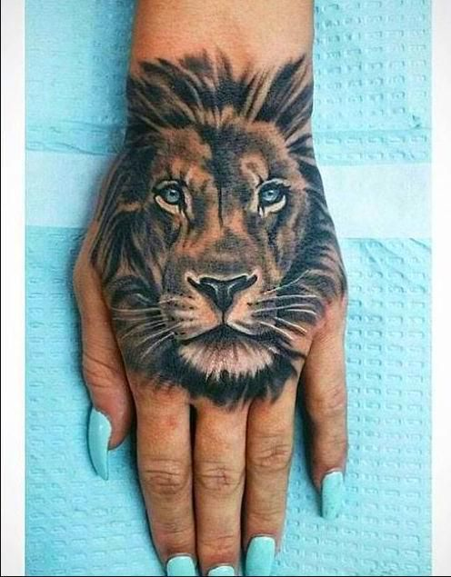 Tattoo Designs Lion Hand Tattoo Lion Tattoo Design Cute Girl Tattoos