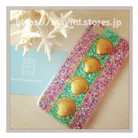 【SALE】5%OFF!!!!shell motif case A | maymi