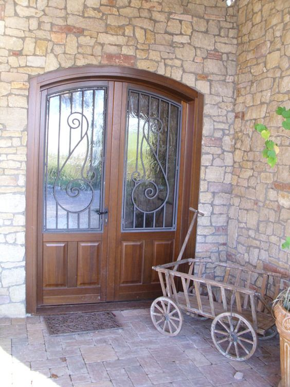 Entry Doors Wood Wood Clad Aluminum America Italiana Doors Collections High Quality Interior