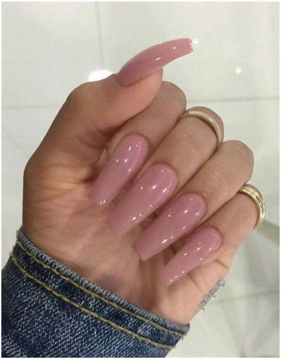 Best Nail Polish Colors For Fair Skin Pink Nails Cute Acrylic Nails Cute Nails