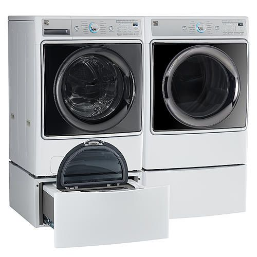 Kenmore Elite 91982 9 0 Cu Ft Smart Gas Dryer W Accela Steam Technology White Kenmore Kenmore Elite Gas Dryer Electric Dryers