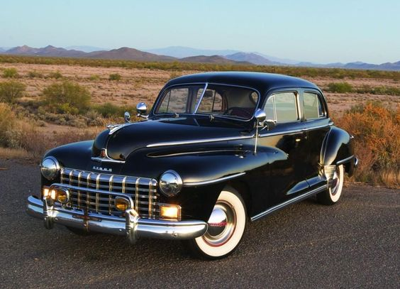Vintage 1946 Dodge Custom Series D-24 Cars Below are pictures of vintage 1946…