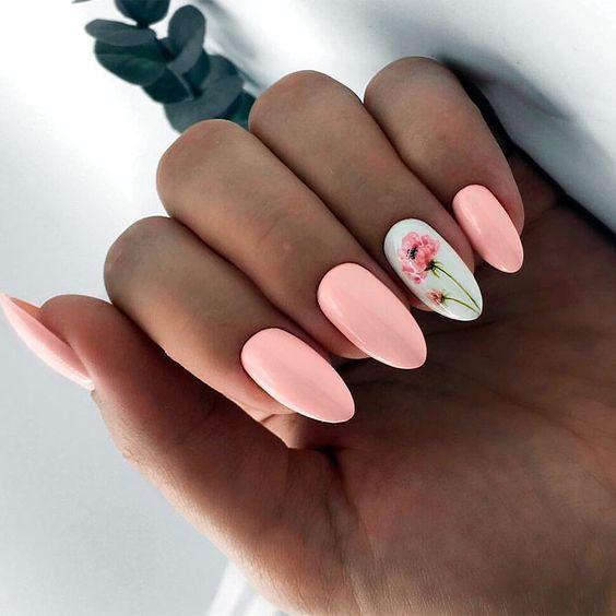 Wiosenne Paznokcie W Kwiaty Postawicie Na Najwieksze Trendy Tego Sezonu Glamorous Nails Nails Gel Nails