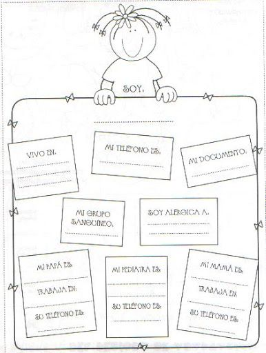 Mensajes cuadernos mariela lbumes web de picasa for Actividades para jardin de infantes para imprimir