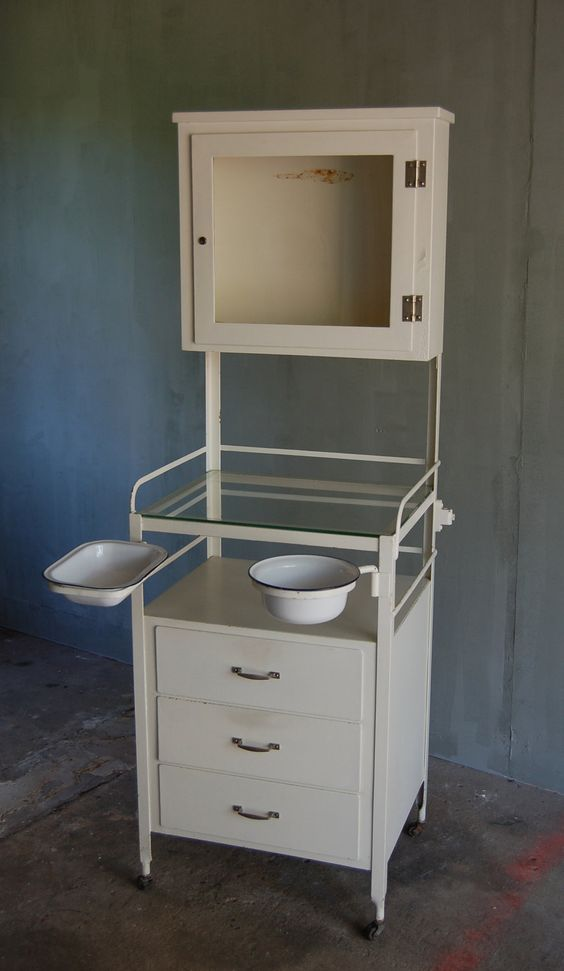 Cannon Castle: This vintage medical cabinet has an understated, classic  look and so many