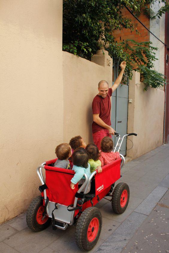 Un día con el grupo de crianza compartida Manada gorigori