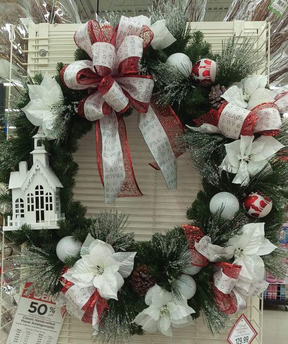 Church wreath by randi sheldon at michaels