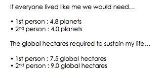 ecological footprint - 1st part