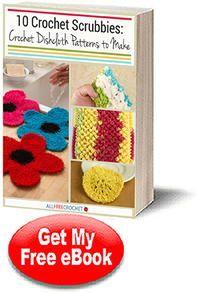 10 ganchillo Scrubbies: Patrones de ganchillo paño de cocina para hacer