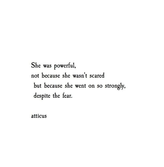 'To be Brave' @atticuspoetry #atticuspoetry