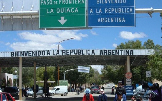 La Quiaca is the town next to the Bolivian border