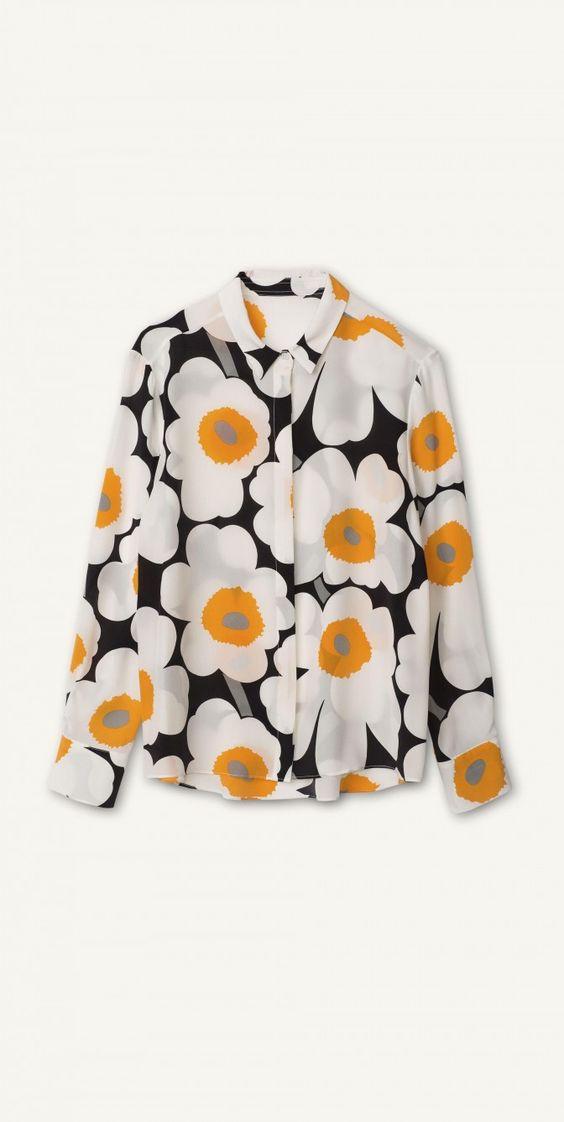 Pavot shirt - Marimekko.com
