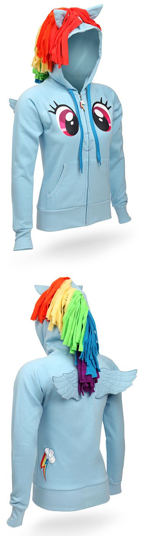 Rainbowdash hoodie