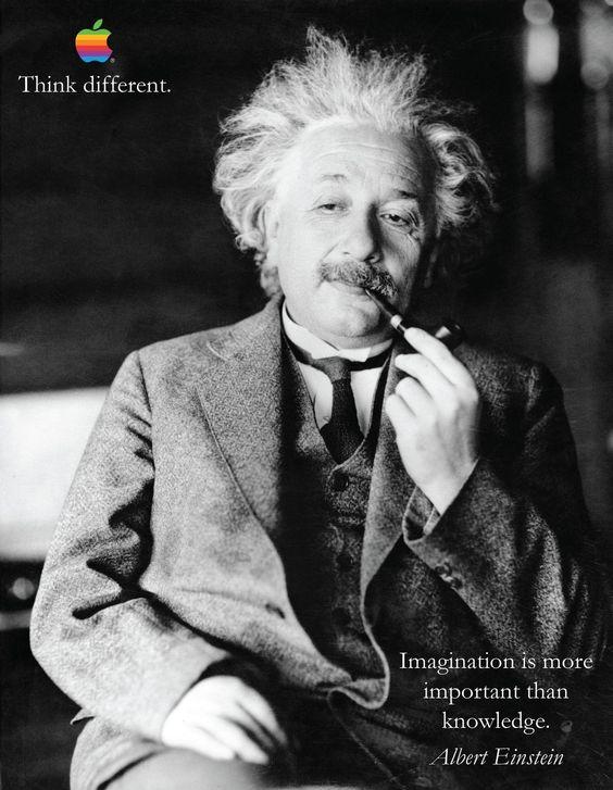 Albert Einstein di Apple iPhone 6 Think Different motivazione Inspiration poster   eBay