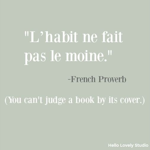 You Are Gorgeous In French