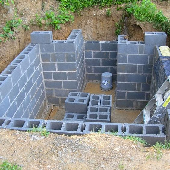 Cellar For A Tiny House COLD STORAGE FOR WINTER USE OF