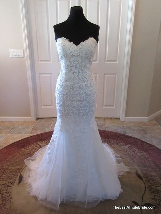 Maggie sottero annette o 39 toole and last minute on pinterest for Last minute wedding dress