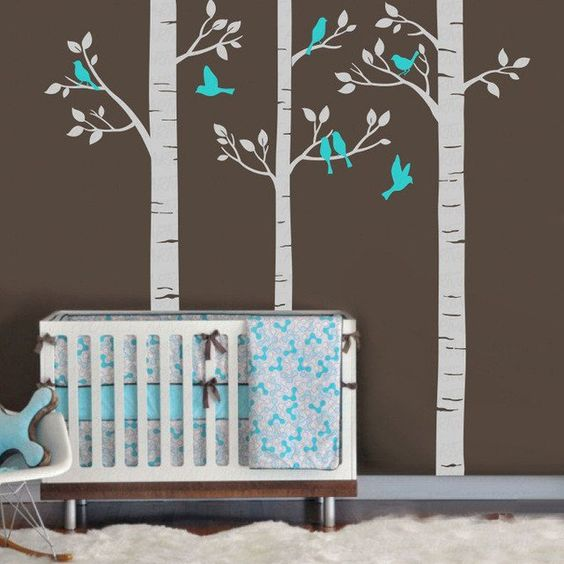 Make your nursery wall look like a forest with our decals. Classification: For WallStyle: ModernMaterial: PlasticSpecification:…