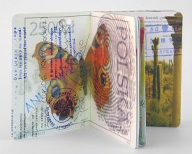 Exhibit - 'From Here and Far Away: Artist's Books, Pages and Paintings' by Beata Wehr | UANews