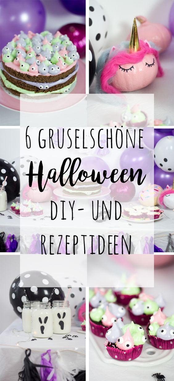 6 gruselschöne Halloween DIY und Rezeptideen