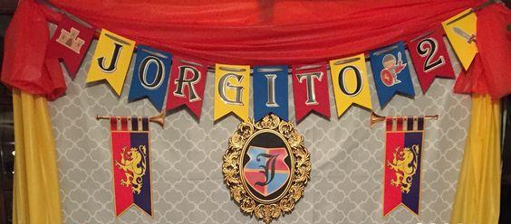 Flag banner: