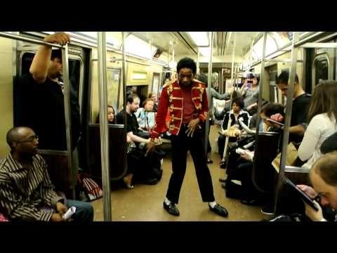 "Michael Jackson impersonator -- ""Billie Jean""  DSC_1942.MOV"