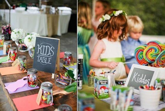 Dicas para fazer o cantinho das crianças na festa de casamento | Blog do Casamento