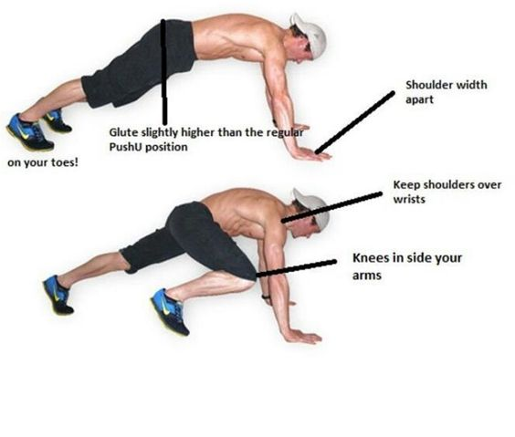 Mountain climbers | For the body | Pinterest | Cardio ...