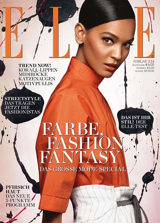 ELLE Cover Februar 2014 – Liya Kebede