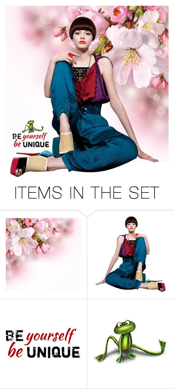 """""""Unique"""" by victoria-ronson ❤ liked on Polyvore featuring art"""