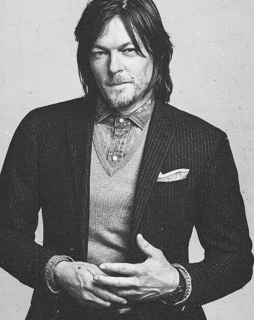 Norman Reedus /GQ Magazine / Oct 2014
