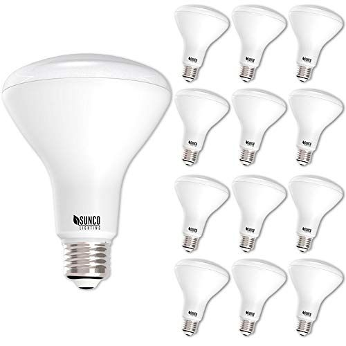 Sunco Lighting 12 Pack Br30 Led Light Bulb 11 Watt 65 Equivalent Flood Dimmable 3000k Kelvin Warm White 850 Lumens Indoor Outdoo Led Bulb Led Light Bulb Bulb