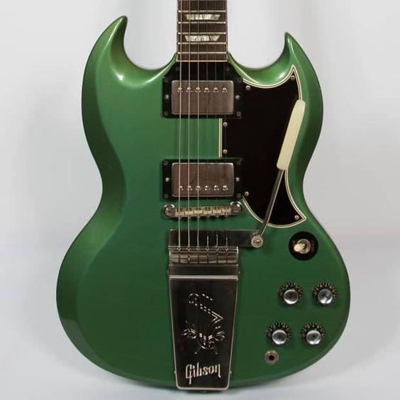 Gibson SG Standard 1965 Pelham Blue | Reverb