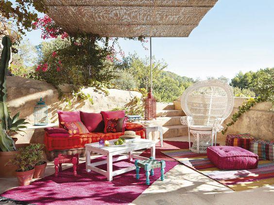 Encantador terraço | Decoração e Ideias - casa e jardim