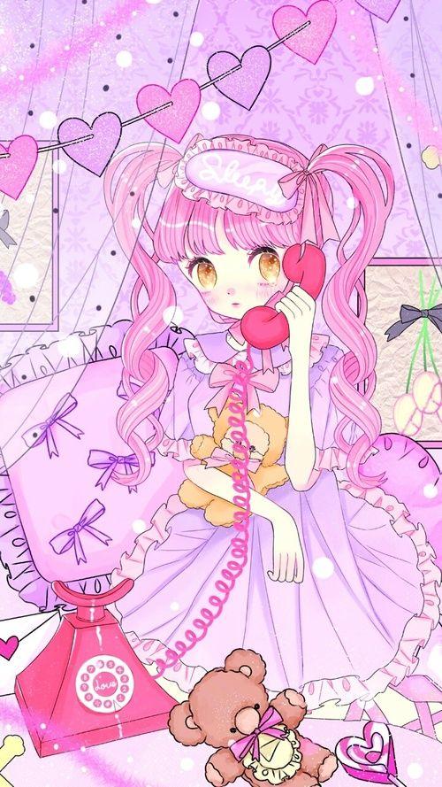 Anime Art Baby Baby Doll Baby Girl Background Beautiful Girl Cartoon Cute Baby Design Drawing Fash Kawaii Wallpaper Cute Anime Chibi Kawaii Drawings
