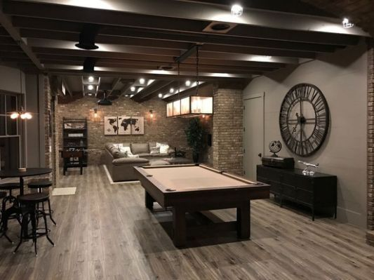 Best 25 Industrial Basement Ideas Rustic Basement Finishing