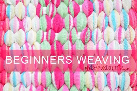 Beginners Weaving at Picklebums