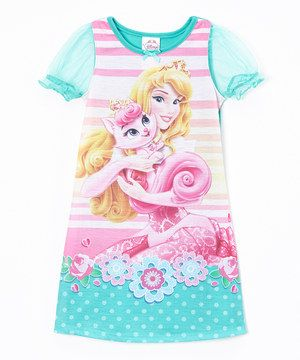 Palace Pets Teal Aurora Palace Pets Nightgown - Toddler by Palace Pets #zulily #zulilyfinds