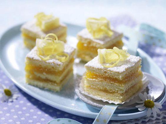 Petit Fours - kleine feine Pâtisserie-Kunstwerke - lemon-curd-pralinen  Rezept