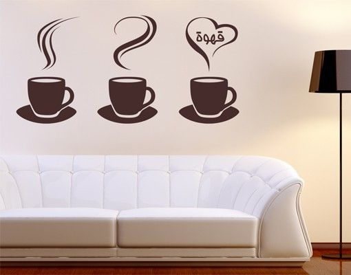 #Wandtattoo Sprüche No.1425 Coffee Cups #kaffee #Genuss #coffee #time