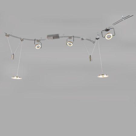 Das #Schienenset Chaos ist eine #Leuchte für Genießer... eine Schönheit, die man sich nicht entgehen lassen sollte! Sehr dekorativ für Ihr #Zuhause oder #Büro, das Set Chaos bietet Ihnen eine Zusammenstellung voller hübscher Details. #Lampenundleuchten.at #Lampe