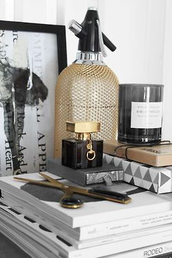 Candles aren't always girly, this one looks masculine and your girl won't mind your room smelling great!
