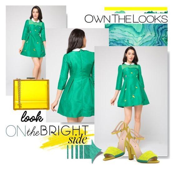 """""""OwnTheLooks"""" by larizoid ❤ liked on Polyvore featuring Oui, Odile! and Fendi"""