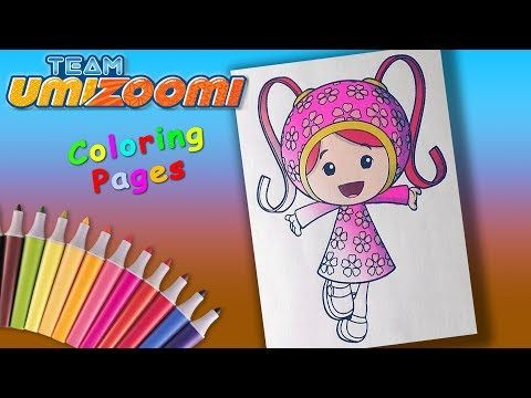 Team Umizoomi Coloringforkids Milli Coloring Pages And Learncolors Youtube Coloring Pages Team Umizoomi Coloring For Kids