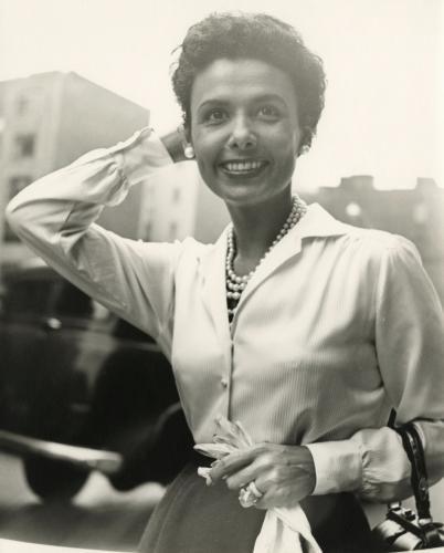 Vivian Maier - Lena Horne, New York, September 30, 1954