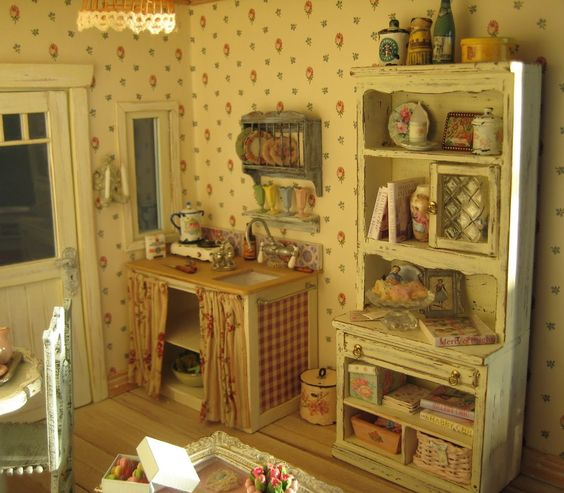 Interesting Facts About Shabby Chic Country Kitchen Design: Nice Little Shabby Chic Kitchen