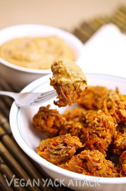 Sweet Potato Tater Tots with Chipotle Aioli by Yack_Attack, via Flickr