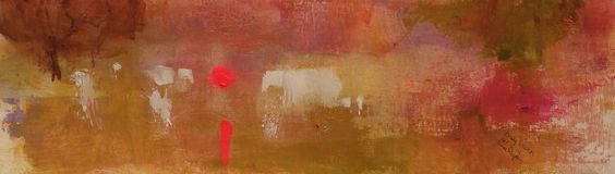 Daily sketch 21/6/14 by Tonie Rigby 52x15 cm , acrylic on paper.
